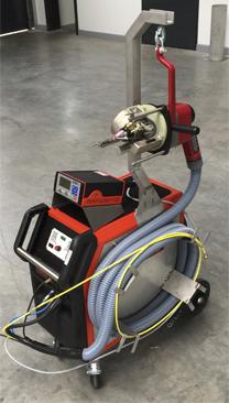 Caldereria industrial - Maquina de soldadura orbital