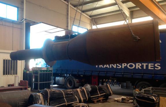 6 camaras de polvo caldereria industrial