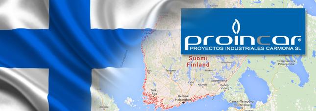 Caldereria industrial PROINCAR en Finlandia