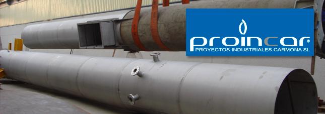 Proincar, profesionales especializados en Caldereria Industrial