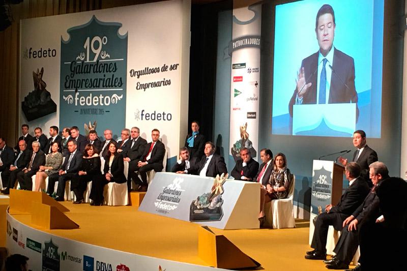 Entrega de premios FEDETO en la anterior edición