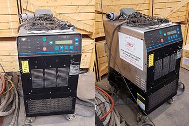 Maquina control temperatura