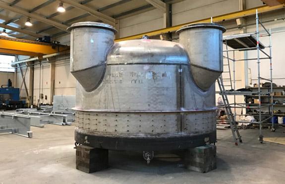 regenerator plenum chamber